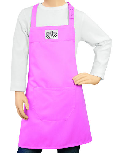 530 Junior Chef Pink schort kids