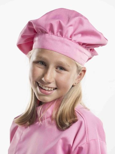 360 Junior Chef Pink hoofddeksel kids