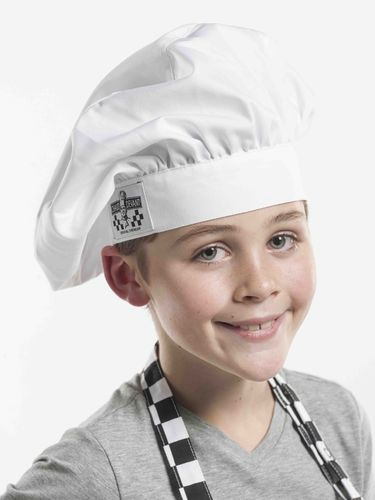 350 Junior Chef White hoofddeksel kids