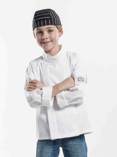 529 Junior Chef White koksbuis kids