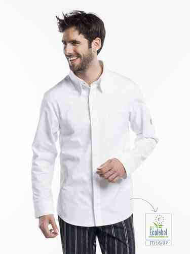 990 Chef shirt white