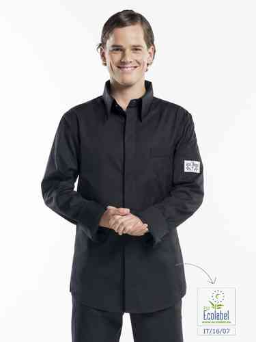 972 Chef shirt black