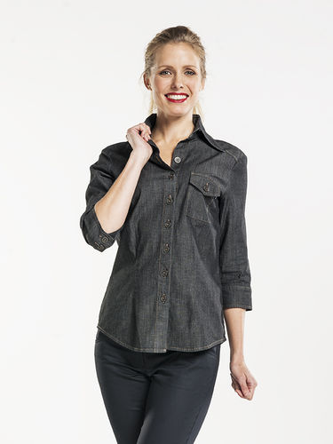 630 Women Antra Denim stretch 3/4 sleeve
